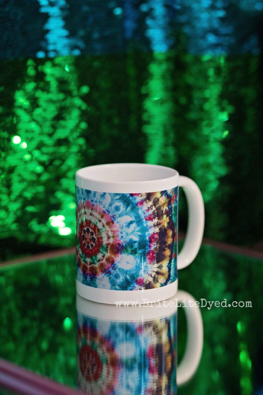 Tie Dye Mug - Tye Dye Mug - BriteLiteDyed Mug - Giveaway - Happy Birthday - Texas