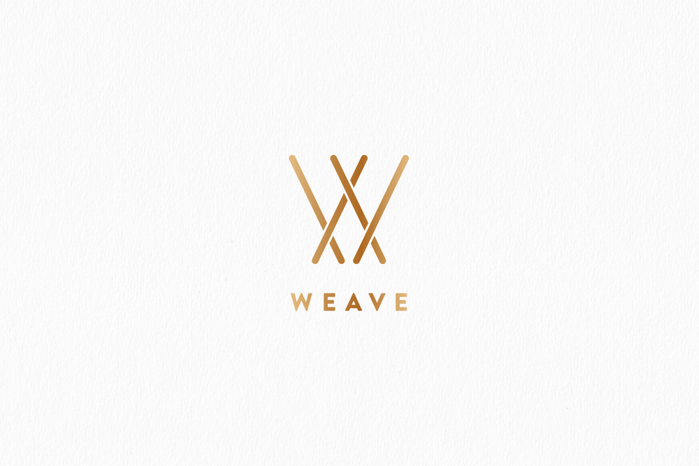 Logo & Identity design for Weave by Studio Mila