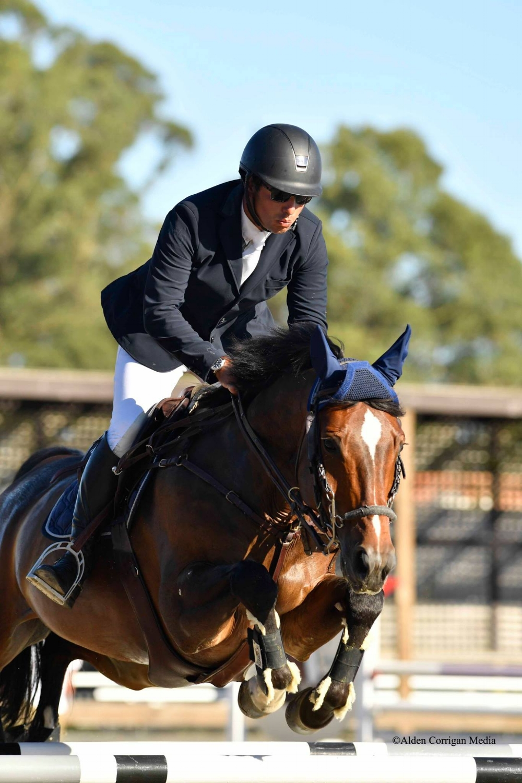 Daniel Ighani & Coralin 6 in Sonoma Horse Park Grand Prix
