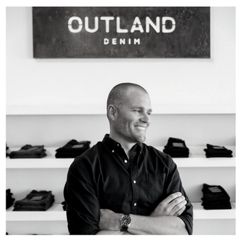 JAMES BARTLE, Founder & CEO of Outland Denim   James Bartle is the founding CEO of Outland Denim; the denim brand making jeans differently.  Driven by the desire to curb the trafficking of young girls into an illicit commercial sex industry, Bartle created Outland Denim to generate training and employment opportunities for women vulnerable to exploitation and abuse.  Over six years Bartle developed a unique production method that would enable each of his seamstresses to gain a covetable skill set in tailoring while crafting artisan quality jeans to the highest standard to compete in the global premium marketplace.  In 2016, he took Outland to scale, securing international investment and distribution to further the company's mission to employ more young women while concurrently investing heavily in supply chain and environmental stewardship.  With a background in manufacturing and start-up ventures, Bartle has taken a hands-on approach to developing Outland's signature jean styles, eschewing automation in favour of craftsmanship.
