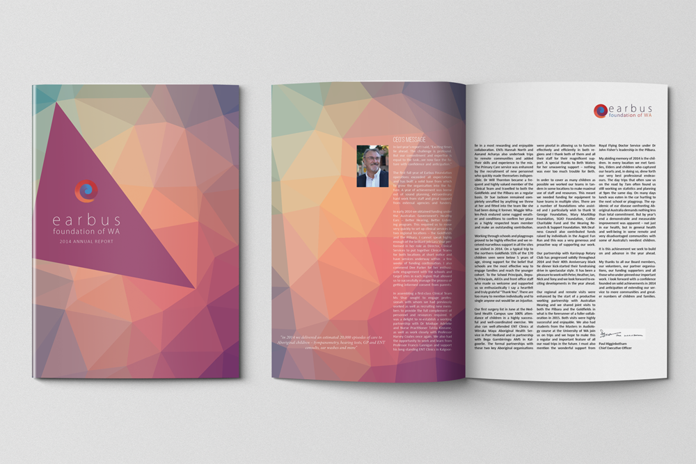 Earbus Foundation Annual Report: 2014 -
