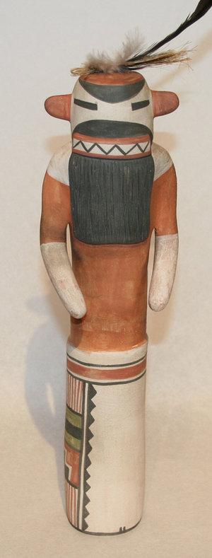 Polychrome Pottery Katsina by Michael Kanteena (click to enlarge)