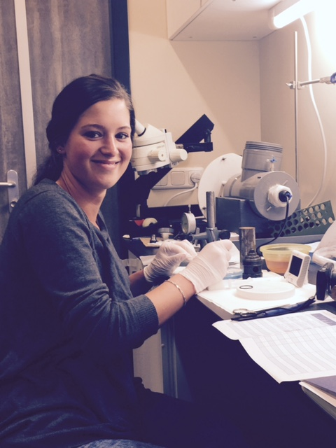 Melanie, Intern from the Institute of Life Sciences & Chemistry, Hogeschool Utrecht
