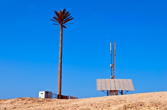 Solar Telecom Station
