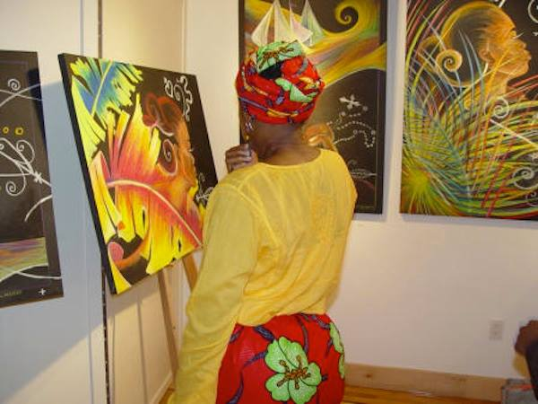"""Echoes of our Ancestors"" Axelle Gallery - Cruising Into History / Haiti 2004 Initiative Brooklyn, NY - May 10, 2003"