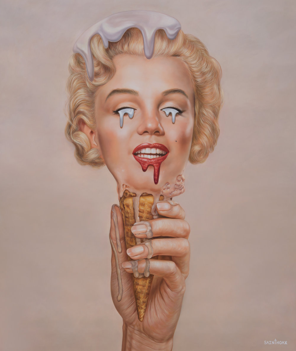 Marilyn Meltdown by Saint Hoax