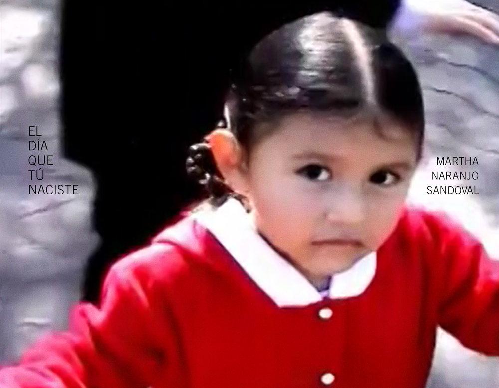 Cover for  El día que tú naciste  ( The Day You Were Born ) by Martha Naranjo Sandoval
