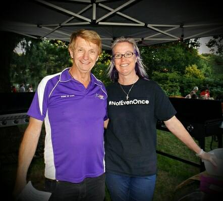 Tanya Cavanagh, Executive Director, Teen Challenge Tasmania and husband Peter Ferrall.
