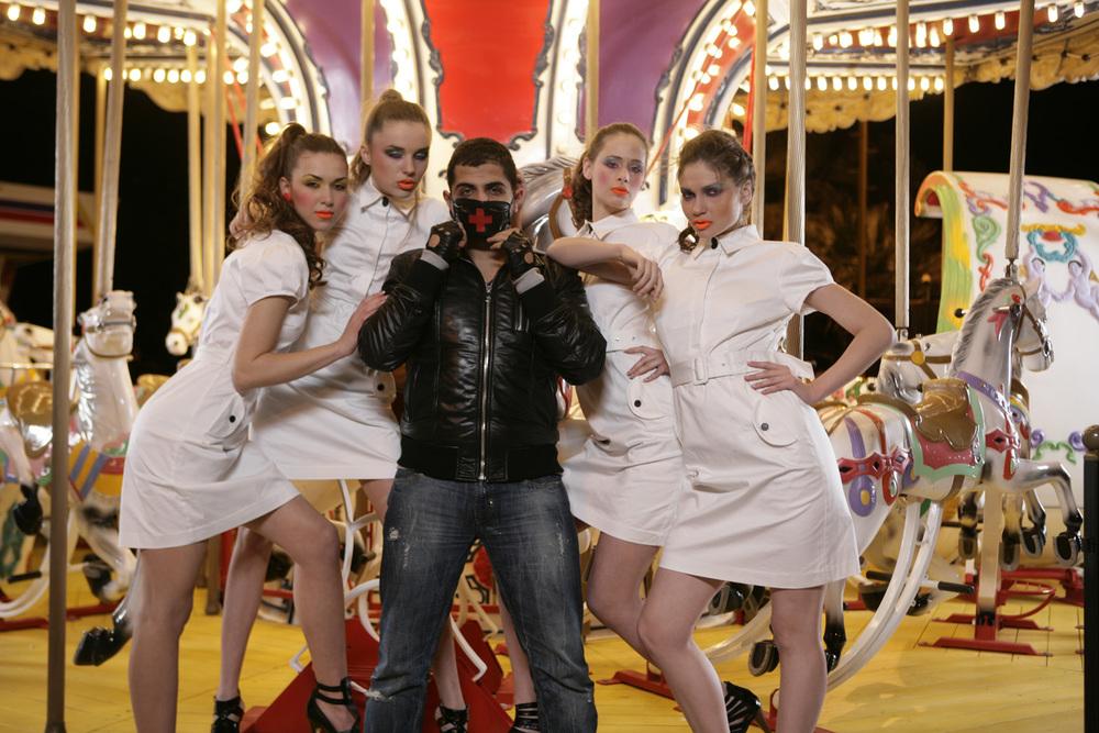 "Eli Rezkallah, Behind the scenes ""LES NUITS DU CARROUSEL"" BEIRUT 2009"