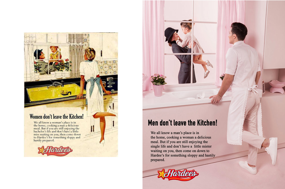 Brand: Hardee's, Origin: USA, Decade: 1940s, Image type: Magazine Advert