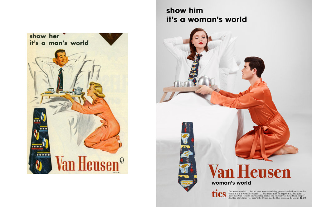 Brand: Van Heusen, Origin: USA, Decade: 1940s, Image type: Magazine Advert