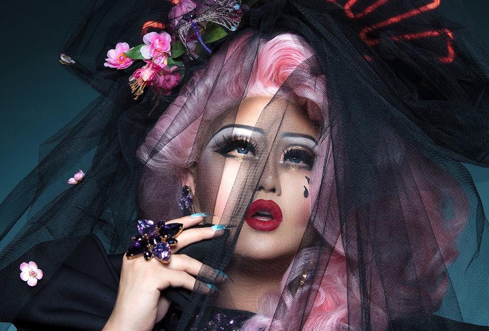 Glitter widow - ft. Kimchi