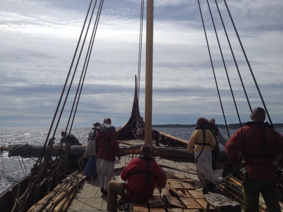 Saga Oseberg (The Oseberg ship)