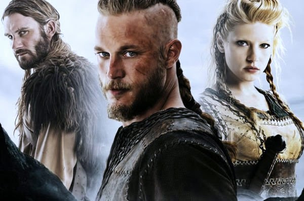 Ragnar, Lagertha and Rollo are ready for season 3 of Vikings