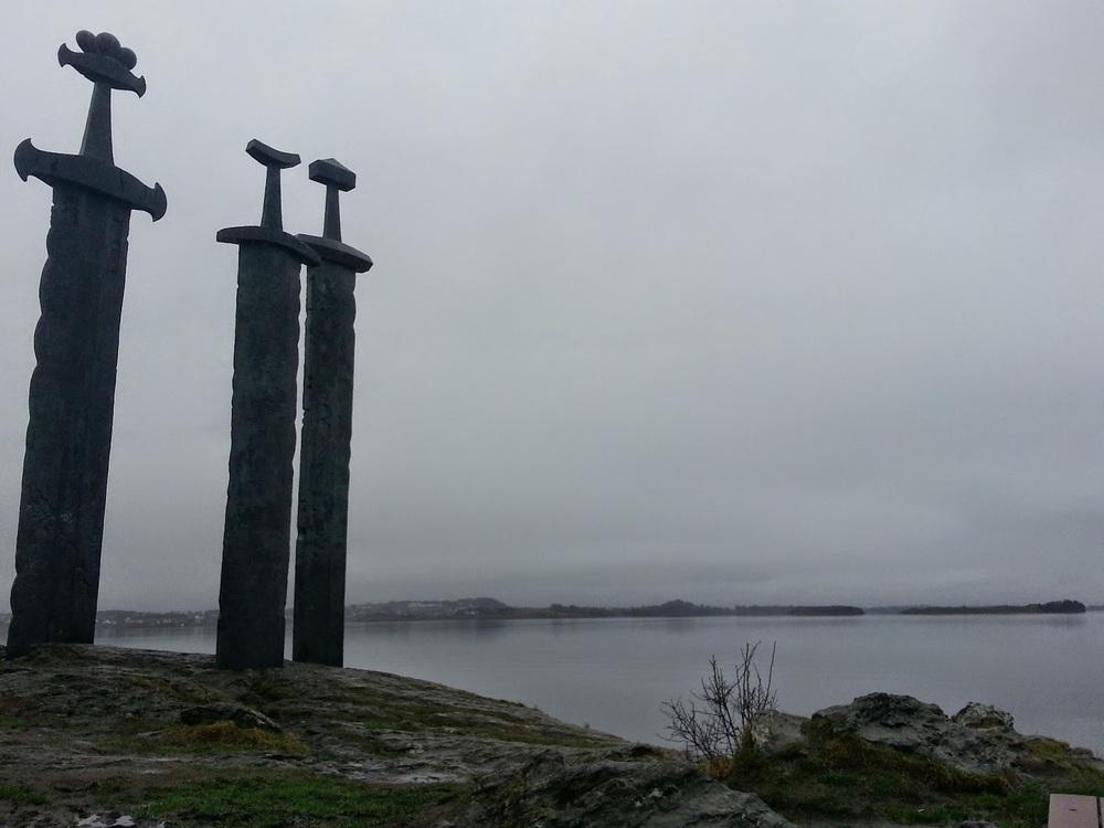 Swords in Rock monument