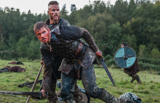 Vikings. Bjorn, son of Ragnar Lothbrok. Bjorn's first battle.