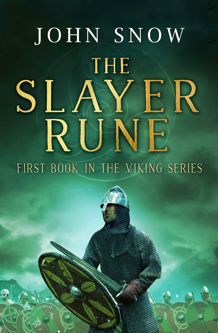 John Snow. The Slayer Rune. Cover Image.