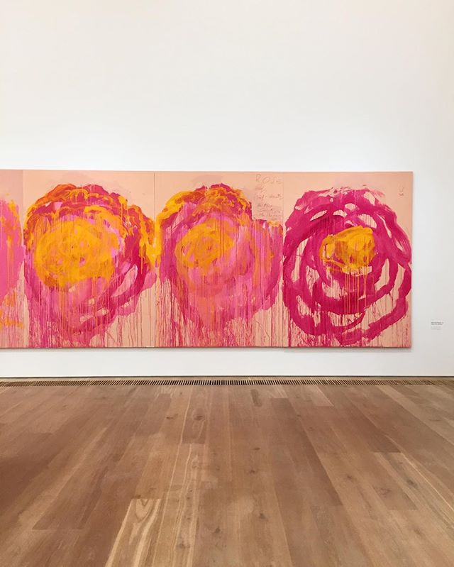 CY Twombly, 'roses'