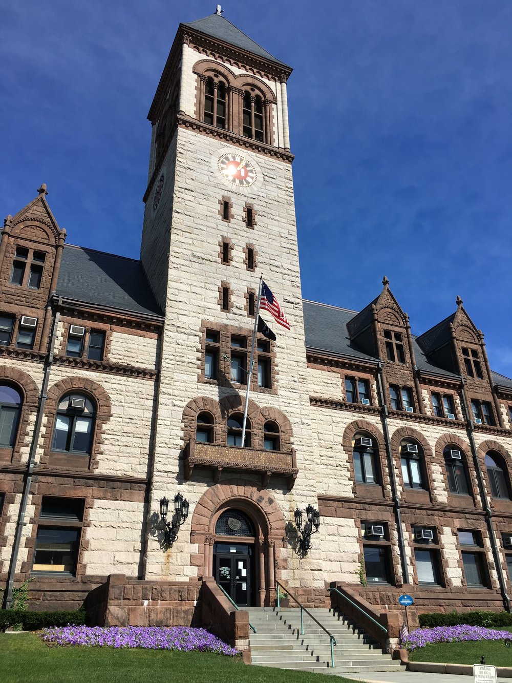 Cambridge City Hall, where FOIA requests cost $17,000 to fulfill. Photo credit - me.