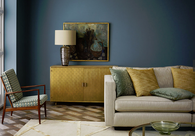 The Zoffany paint collection offers 144 shades in four finishes. Available to order from TFFC
