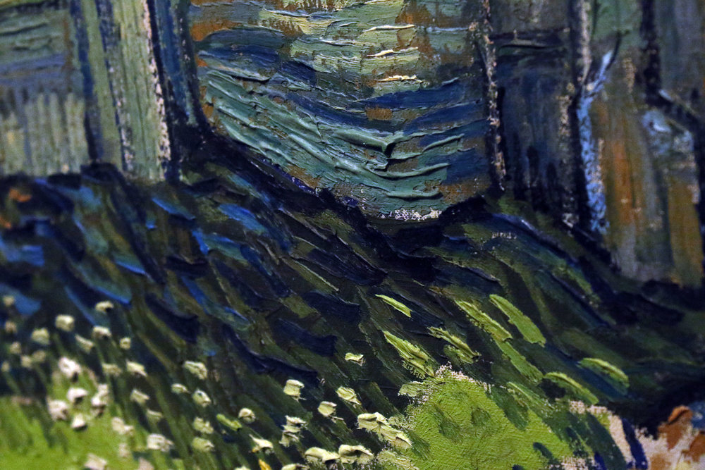 Another detail shot of one of Van Gogh's paintings