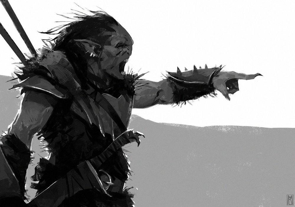 """""""Orc Sketch"""""""