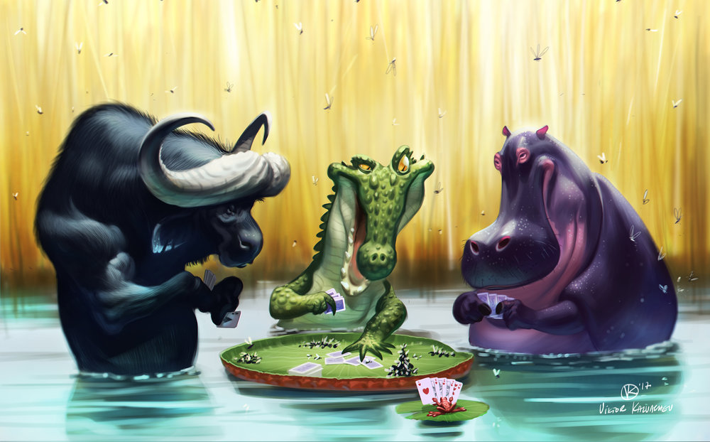 Hippopotomus (and Friends)