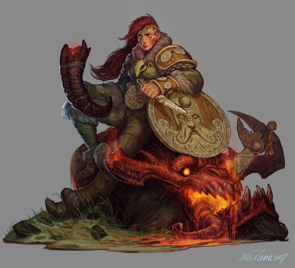 """""""Shield Maiden"""""""
