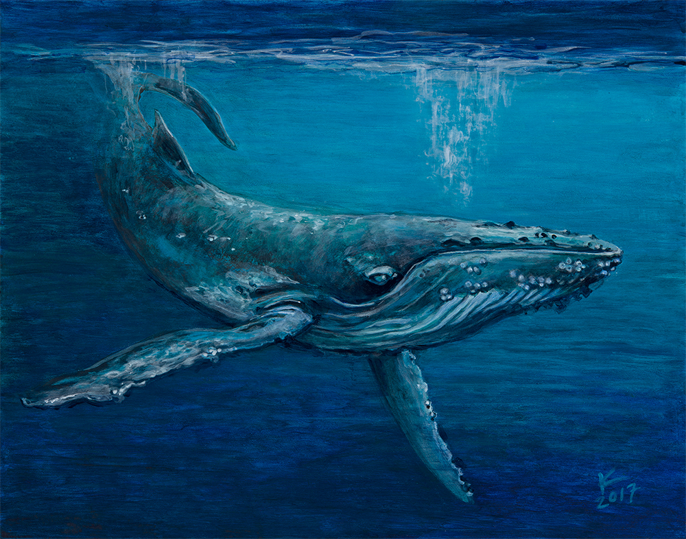 """ From the Deep (Humpback Whale)"""