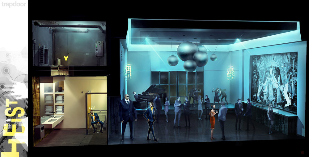 "Trapdoor™: HEIST ""Ballroom Mission"""