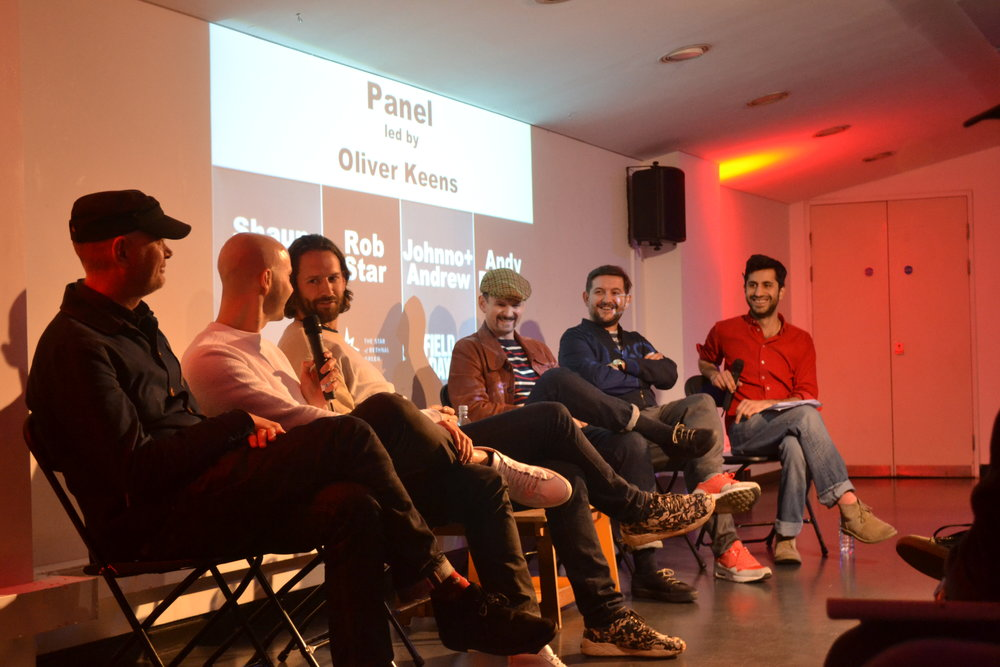 Time Out's Oliver Keens (far right) with (from left): Johnno Burgess (Bugged Out, Field Day); Andy Peyton (XOYO); Rob Star (Eastern Electrics, Star of Bethnal Green); Andrew Spiro (Sankeys, Field Day, Bugged Out); and Shaun Roberts (Fabric).