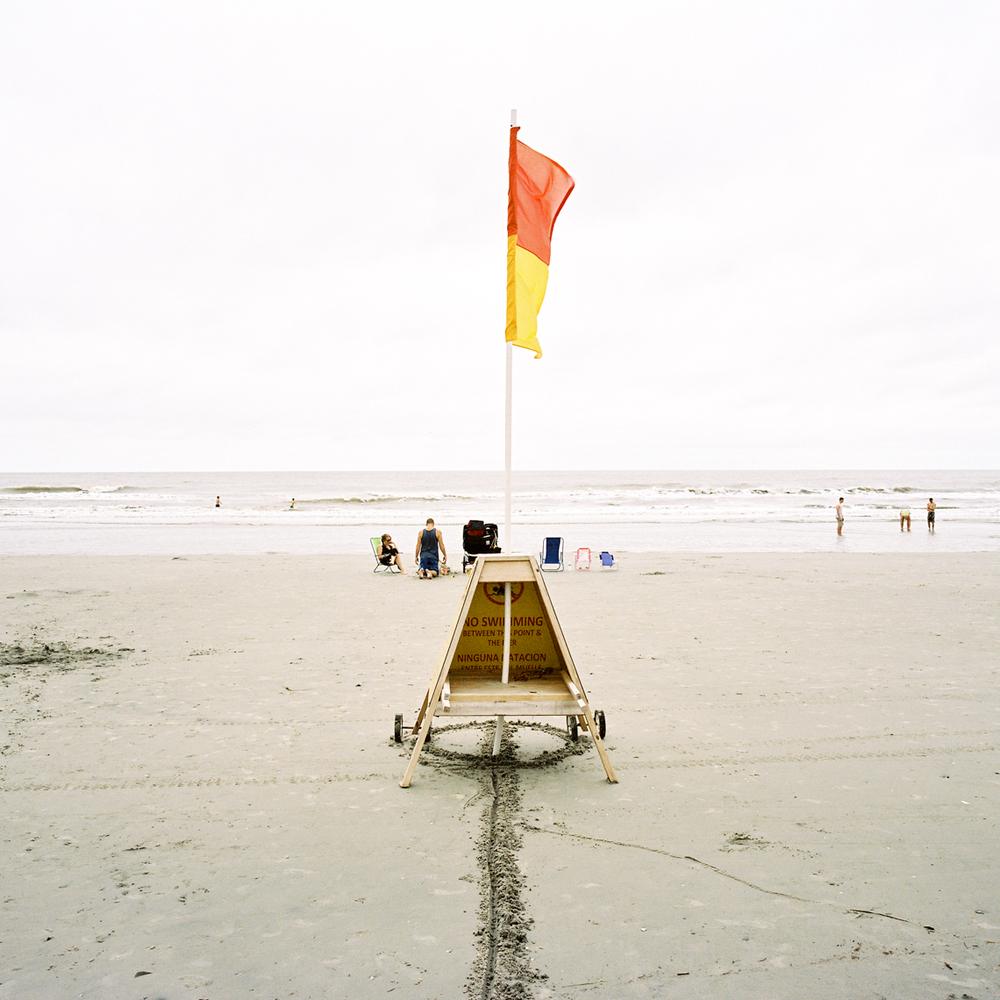 Flag, Folly Beach, SC, 2014
