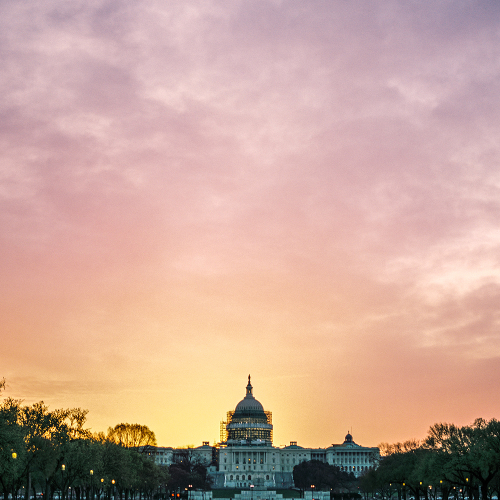 Capitol Sunrise, Washington, DC, 2016