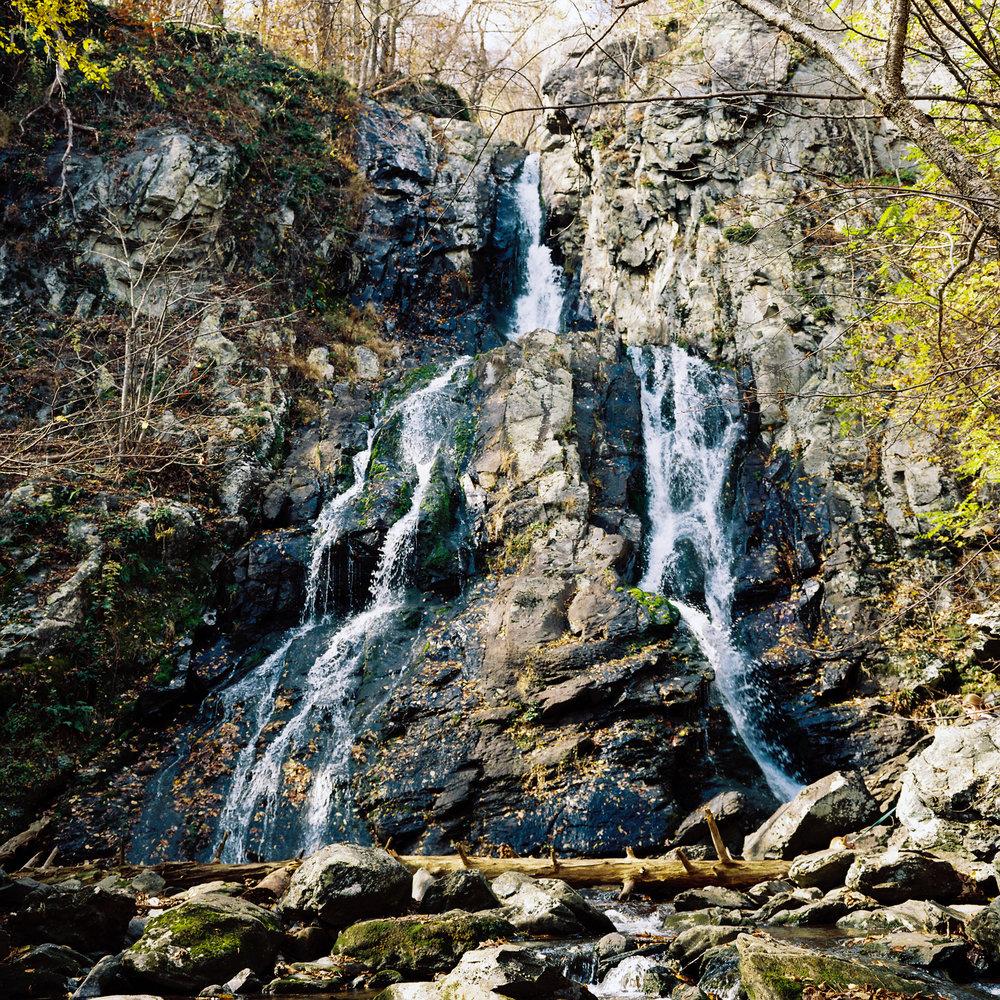 Waterfall, Shenandoah, VA, 2013