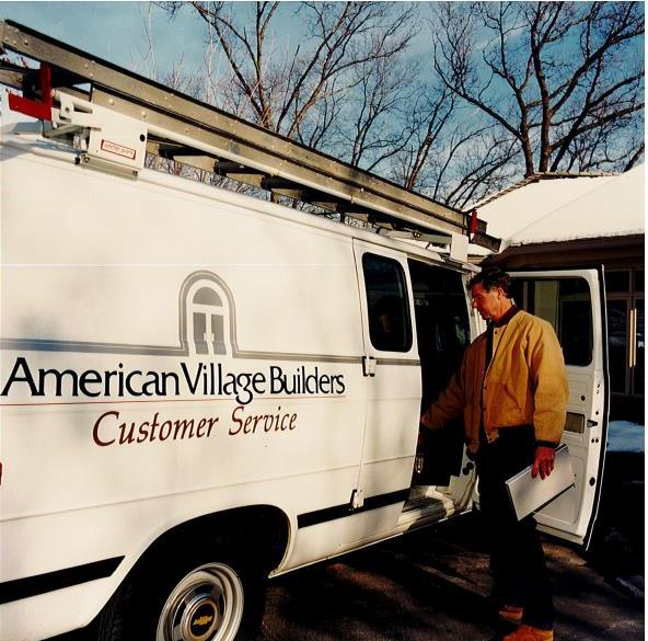AVB was founded in 1981. Our original logo is shown on the side of a residential customer service truck.