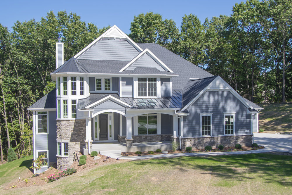 This custom home was completed in 2016. AVB continues it's tradition of excellence in building custom homes & condominiums.