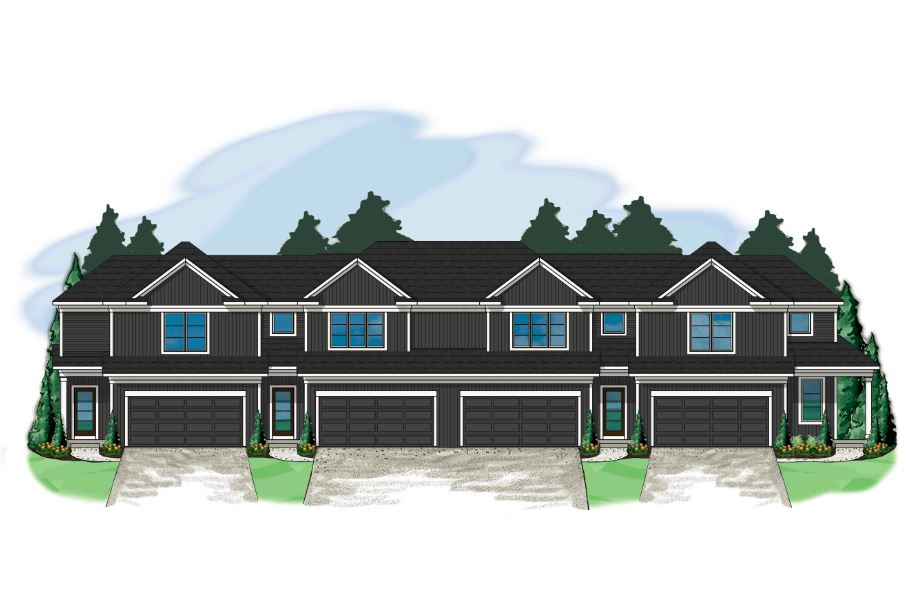 New Townhome Rendering