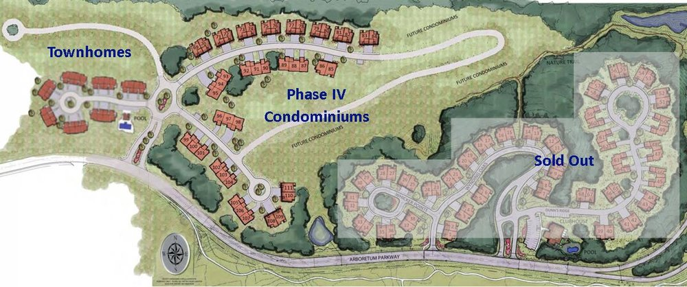 Walden Woods Community Map