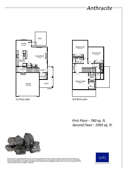 Anthracite floor plan