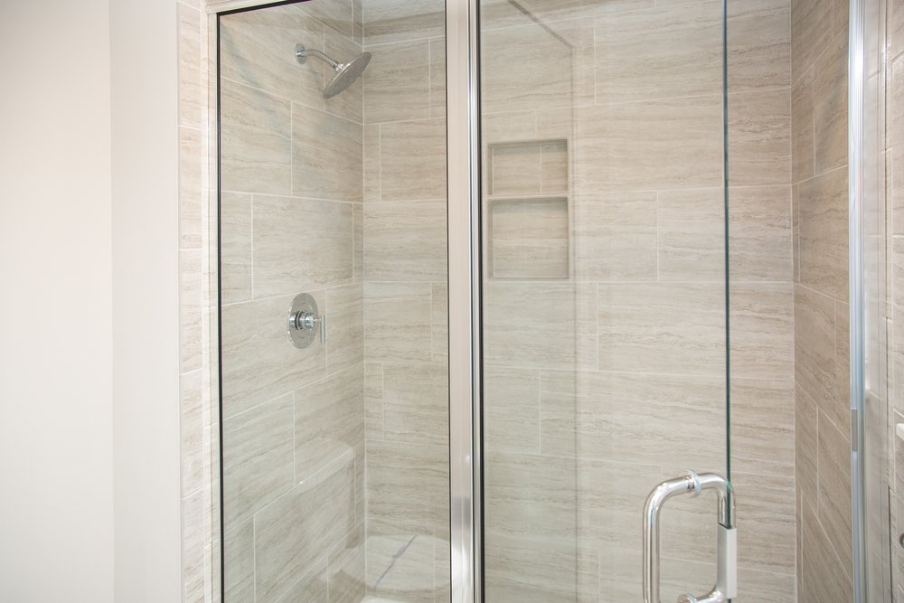 Owner's shower