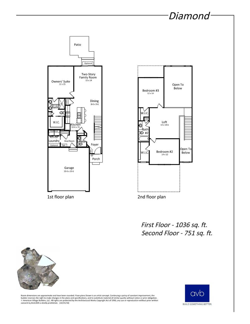 The 'Diamond' floor plan