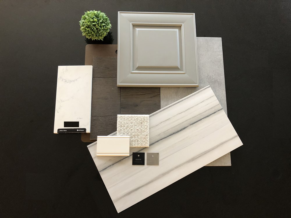 Samples of the interior selections