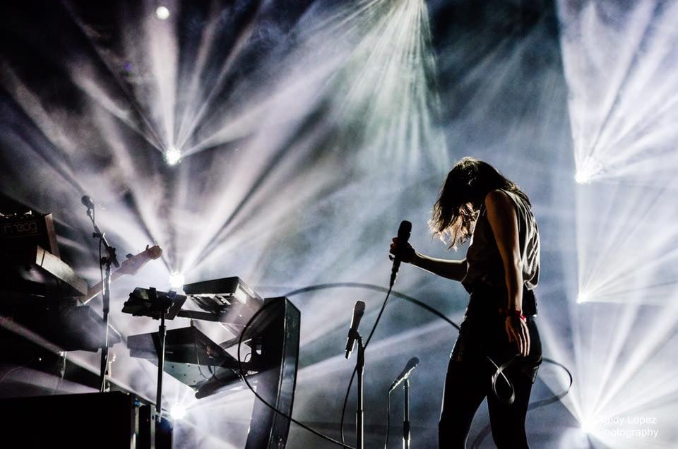 CHVRCHES by Saidy Lopez