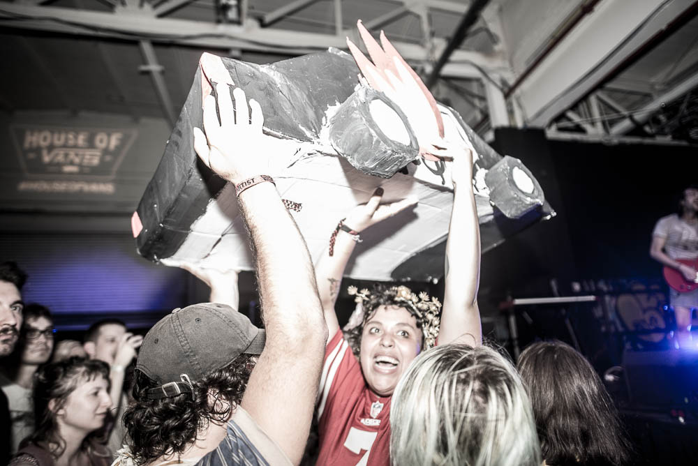 Sheer Mag_Downtown Boys in crowd at House of Vans by Edwina Hay-0306.jpg