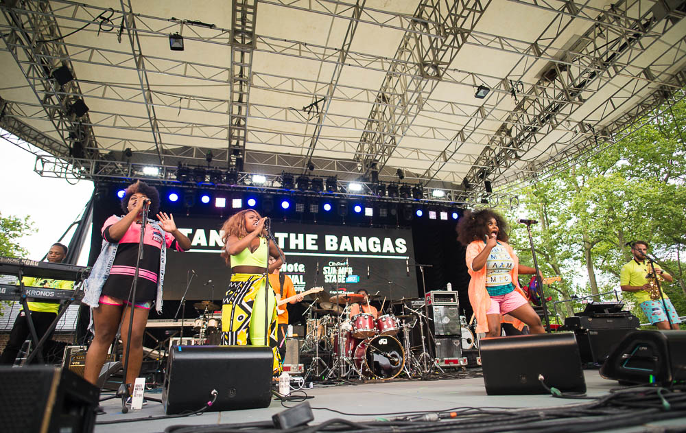 Tank & The Bangas | Manhattan, NY - Photo by:  Edwina Hay
