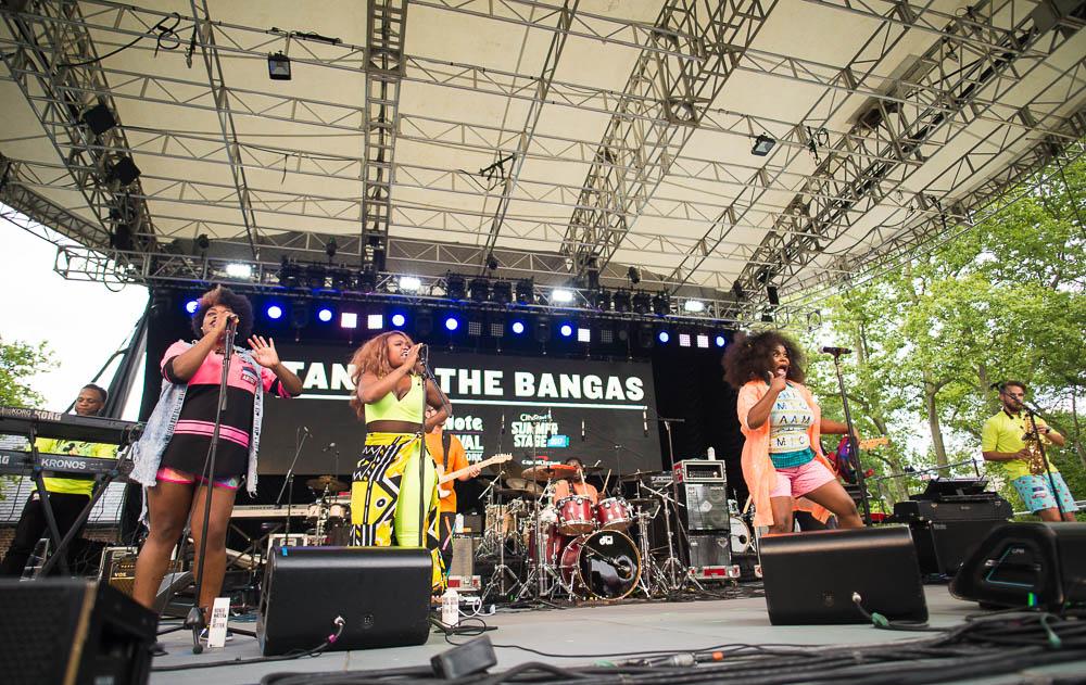 Tank & The Bangas | Manhattan, NY - Photo by: Edwina Hay