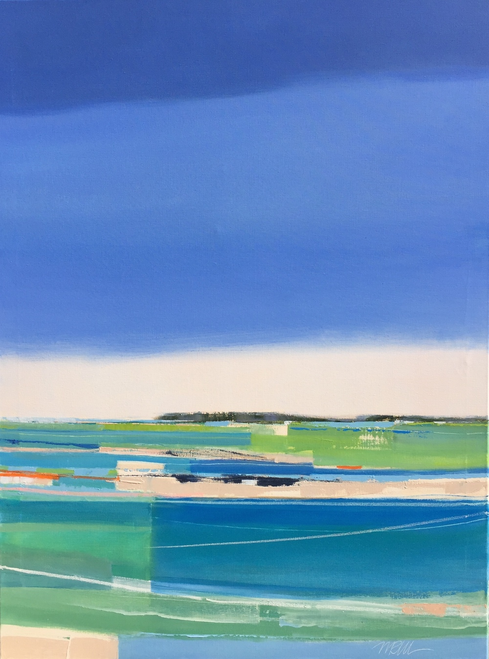 CLEAR AND SUNNY   30X40