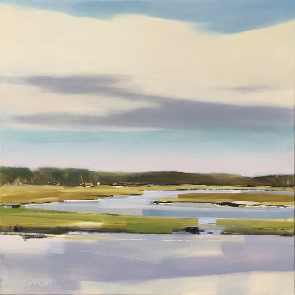LATE AFTERNOON CALM 36X36