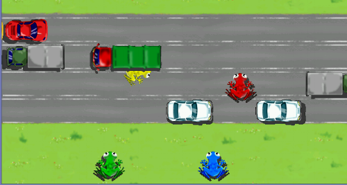 Frogger image via Softpedia.com.