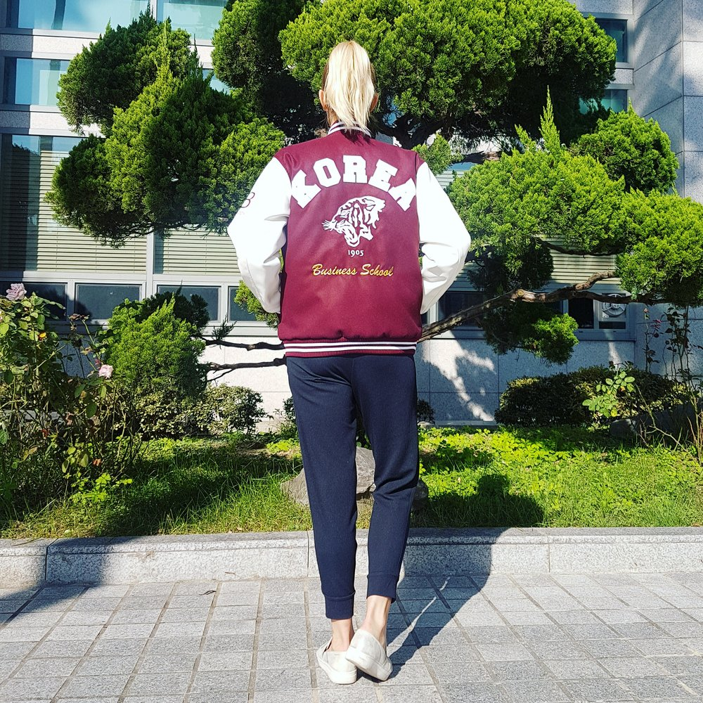 Korea University's Tiger is so cool! I love it.